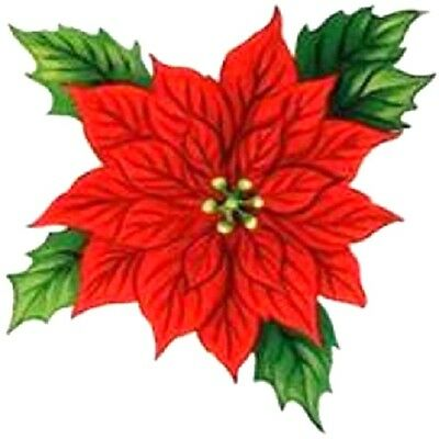 30 Custom Poinsettia Personalized Address Labels