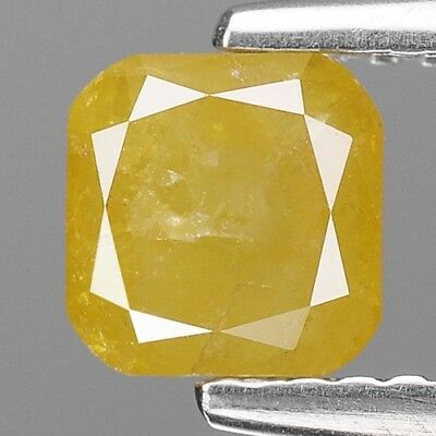 1.16 Cts Untreated Quality Canary Yellow Color Natural Diamonds