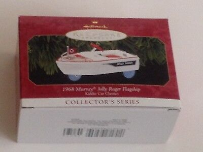 NIB Hallmark 1999 Ornament 1968 Murray Jolly Roger Flagship Kiddie Car #6