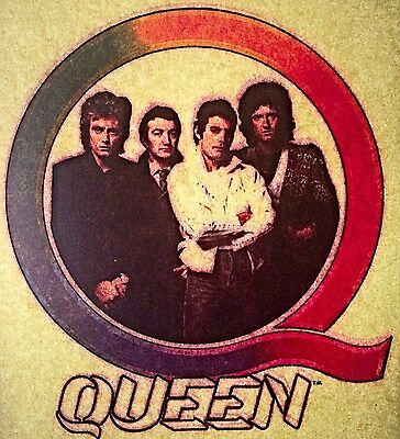 Vintage 80s Queen Iron on Transfer Hot Peel RARE!