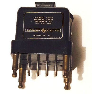 Western Union Automatic Electric Telegraph Teletype Relay