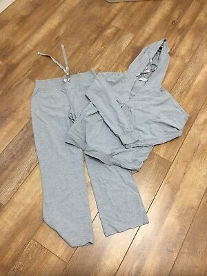 Maternity Tracksuit In Grey, Size 8!!