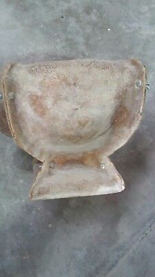 planter mould fiberglass only no latex needed