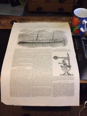 1882 Seagoing Torpedo Boat For Argentine Government