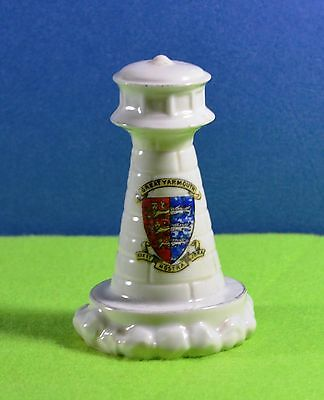 Crested Ware Lighthouse - Great Yarmouth