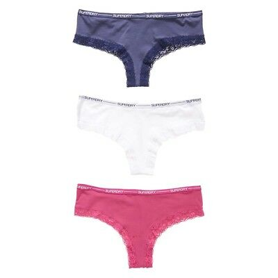 Superdry Lolalace Brief Triple Pack Ropa interior