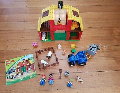 Duplo 5649 lego farm 100% complete (figure brick block minifigure city)