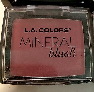 L. A. Colors Mineral Blush Compact With Brush And Mirror Autumn