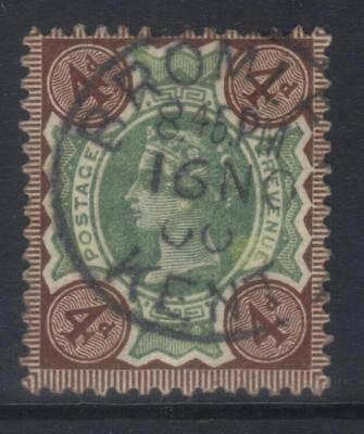 GREAT BRITAIN 1887-1902 JUBILEE ISSUE SG205a USED CAT £27 BROMLEY PMK