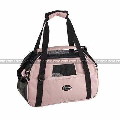 In/Outdoor Foldable Pet Carrier Dog Cat Comfort Travel Tote Bag Airline Approved