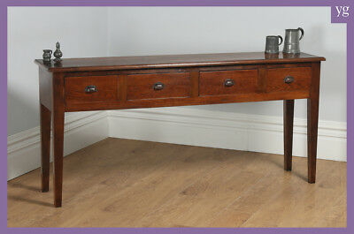 19th Century Style French Provincial Chestnut Low Dresser Base Sideboard Server