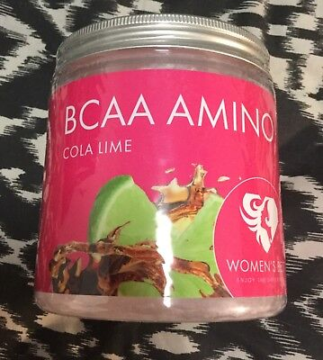 Women's Best BCAA Amino Acids In Cola Lime Flavour. New Sealed