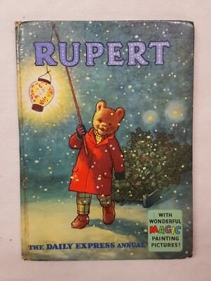 Rupert the Bear Annual 1960 Price Not Clipped (4)