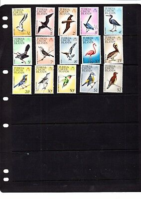 A Selection Of Unmounted  Mint Stamps From Turks & Caicos Islands
