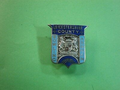 COUNTRY LEICESTERSHIRE ENAMEL  BADGE  package FREE.