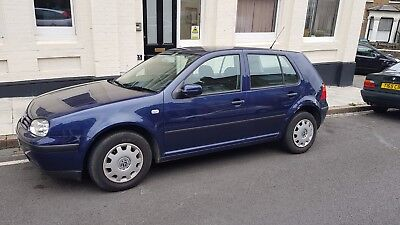 2003 5-door 1.4 S Volkswagen Golf (Blue) - Just 53000 miles