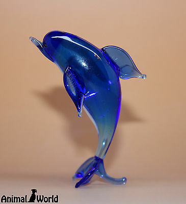 Blown Glass Animals figurines Dolphin Russian Souvenirs