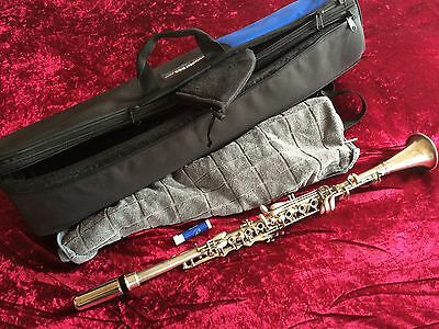 """Metal Clarinet """"the Regent"""" By The Ohio Band Instrument Company """"ready To Play"""""""