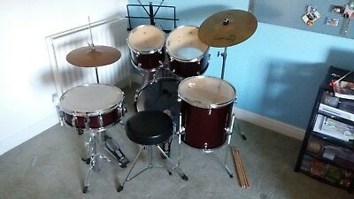 Mapex Tornado Complete Drum Kit with Cymbals