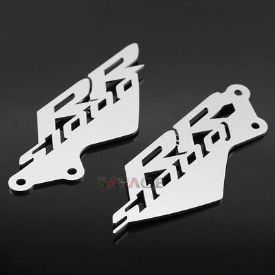 Footrest Foot Peg Heel Plates Guard Protector For BMW S1000RR 2010-2014 11 12 13