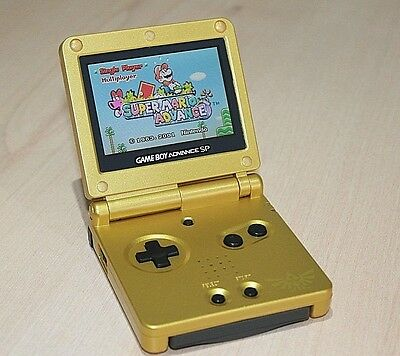 Backlit Backlight Zelda Game Boy Advance SP Console ags101 New Refurbished GBA