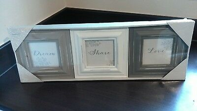 Brand New Next Set Of 3 Picture Frames