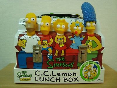 The Simpsons Dome Lunch Box, Mint Unused With Leaflets And All Parts Of The Box