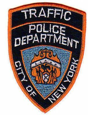 Historisches Traffic NYPD Patch