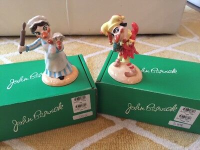 "John Beswick ""Punch & Judy"" Mint, Boxed with Certificate - Free P&P"