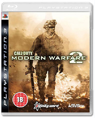 PS3 - Call of Duty Modern Warfare 2 (COD MW) **New & Sealed** Official UK Stock