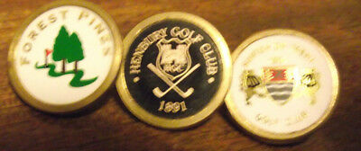 3 Quality Brass  Ball Markers At A Steal Price