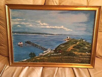 Mumbles Pier / Lighthouse Painting