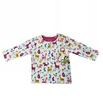 *Kite Clothing* Woodland Animals Long Sleeved Top (3-6 Months) BNWT RRP £15.99