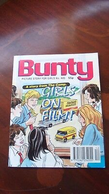 Bunty Picture Story Library, No 445, Girls On Film !