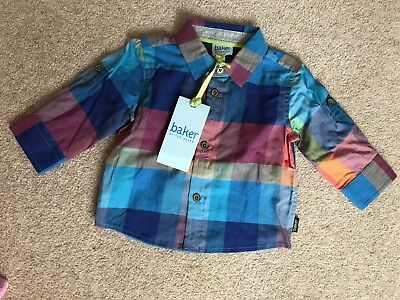 BNWT New Baby Boy Ted Baker Shirt 0-3m