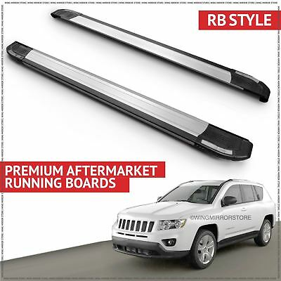 Running Boards Side Steps (RB) for Jeep Compass SWB 2011-2014