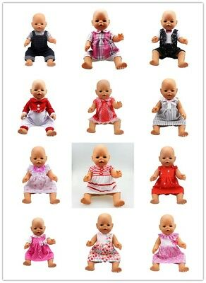 2017 clothes Doll Clothes Wearfor 43cm Baby Born zapf (only sell clothes )&&