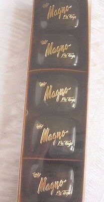 Vintage Set of six Magno La Toja  Soap boxed and in cases. 30g bars. RARE