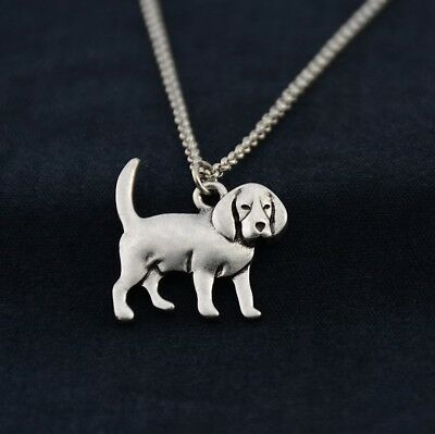 Cartoon Beagle Pendant Necklace ANIMAL RESCUE DONATION