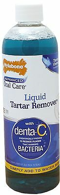 Advanced Oral Care Dog Liquid Tartar Remover - Pet Dental Breath Freshener 16 Oz