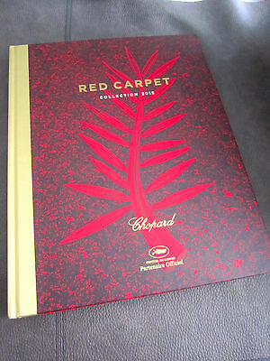 """CHOPARD  """" RED CARPET """" HARDBACK 60th COLLECTION BOOK -Stunning! Cannes Festival"""