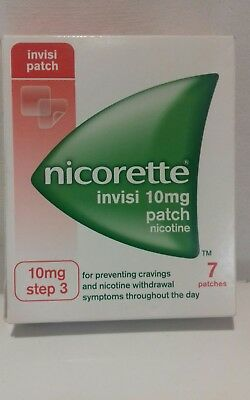 NICORETTE INVISI Patch Step 3 10mg 1 Week Kit 7 Patches