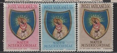 Vatican City 189-191 MNH Complete