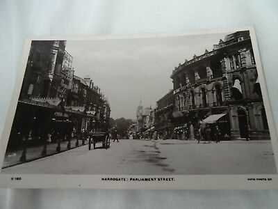 postcard,parliament st ,harrogate.rapid photo printing co ltd.