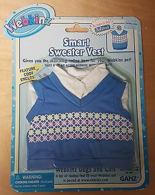 WEBKINZ CLOTHES, Sweater Vest, BRAND NEW,