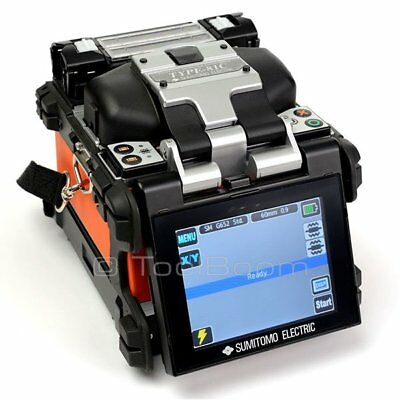 Sumitomo Type-81C Fiber Optic Fusion Splicer for SM, MM, DS, NZDS, BI, ED Fibers