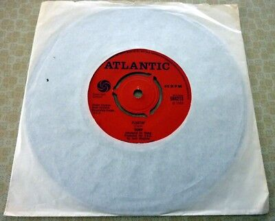 VAMP, FLOATIN'/THINKIN' TOO MUCH, 1968 MADE IN Gt BRITAIN ATLANTIC LABEL SINGLE