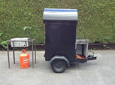 Portable Victorian Pickwick jacket potato oven catering/ functions VGC