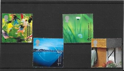 GB 2000 Millenium Projects ,People & Places unmounted mint set stamps
