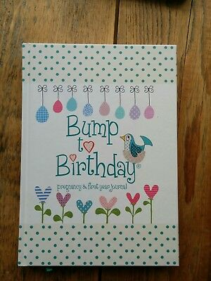 Bump to Birthday, Pregnancy & First Year Journal Diary